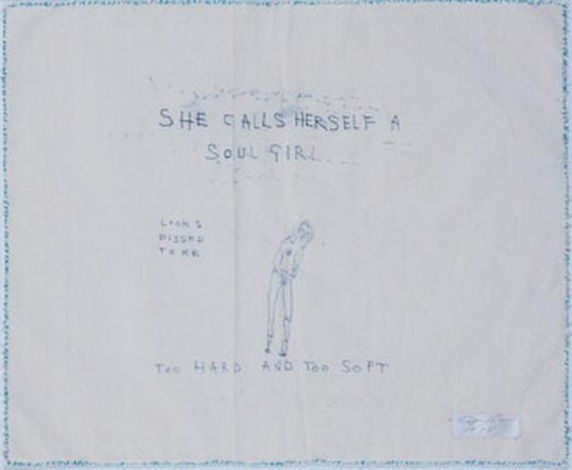 Tracey Emin-She Calls Herself a Soul Girl-1998
