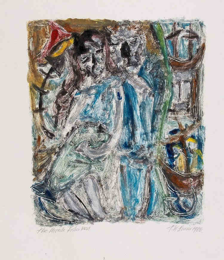Tracey Emin-The Miracle Fisher Men-1986