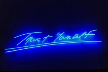 Tracey Emin - Trust Yourself, 2012