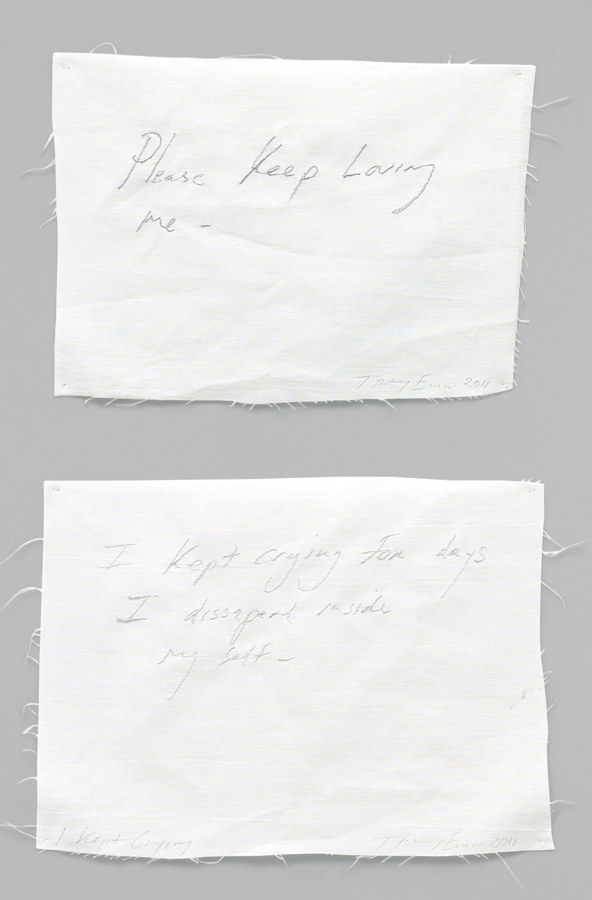 Two works: (i) Please Keep Loving Me; (ii) I Kept Crying-2011