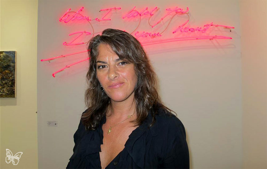 Tracey Emin at FIAC