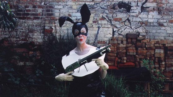 Tracey Rose - Bunnie, 2002 (detail), photography
