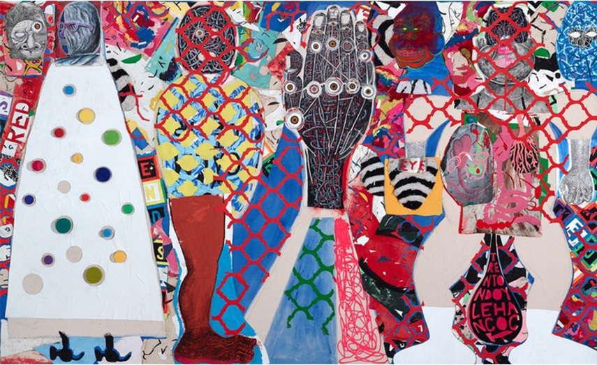 Trenton Doyle Hancock work  museum  university  art21  arts  use  home