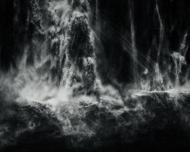Trevor Paglen - Shoshone Falls, Hough Transform