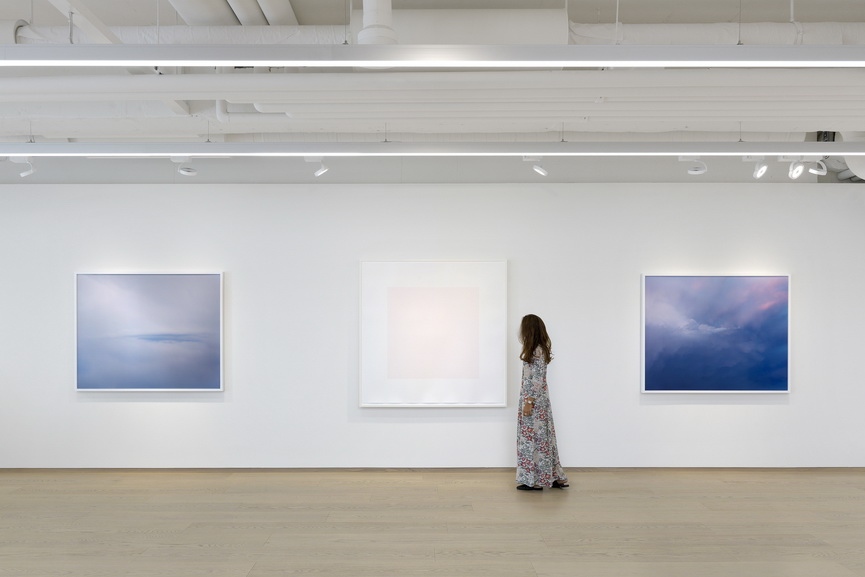 Trevor Paglen: The Shape of Clouds. Installation view