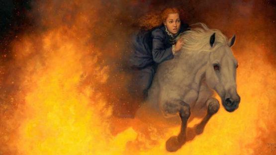 Tristan Elwell - Firehorse (detail)