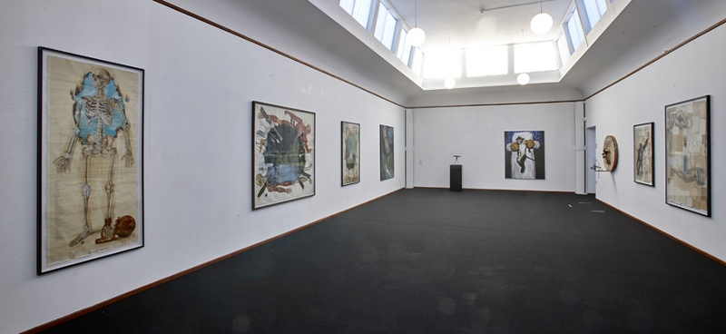 Troels Carlsen - Insight & Illusion show at Museum Krydsfelt in Skive, Denmark, 2015, installation view