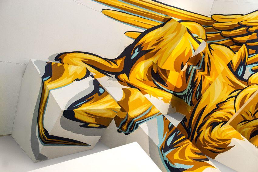 Truly Design mural