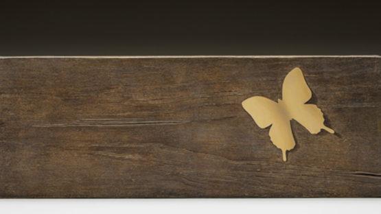 Tseng Shu-Fen - Simulacra--Pseudo Crosstie and Butterfly II, 2015