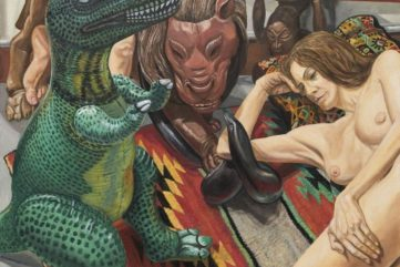 Twenty Years of Philip Pearlstein's Nudes at Saatchi Gallery