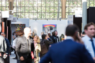 Urban Art Fair 2018 Le Carreau du Temple gallery