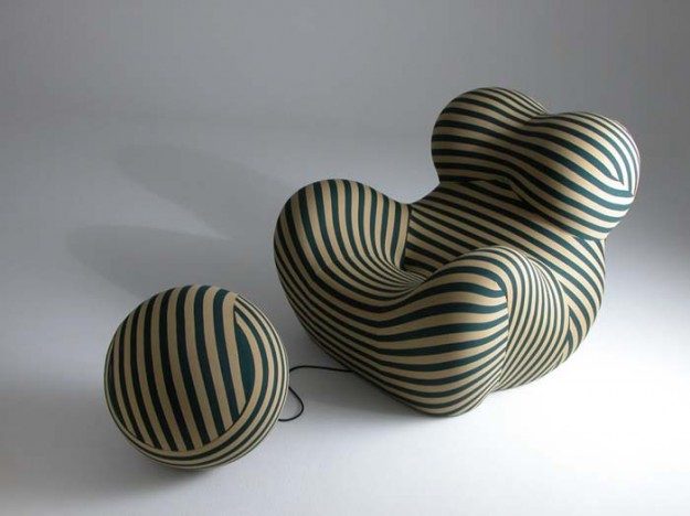 UP Chair Design by Gaetano Pesce