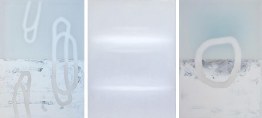 Udo Nöger - Selbstlos, 2014 - Gleiche Farbe Weiss, 2014 - Gleichlos, 2015