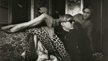 Ugo Mulas - Andy Warhol and Edie Sedgwick