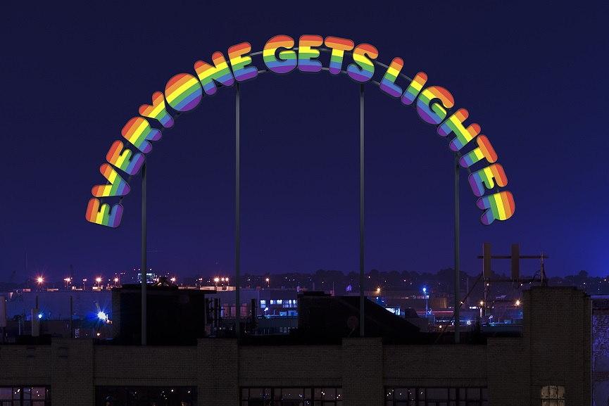 Ugo Rondinone - Everyone Gets Lighter, 2004.