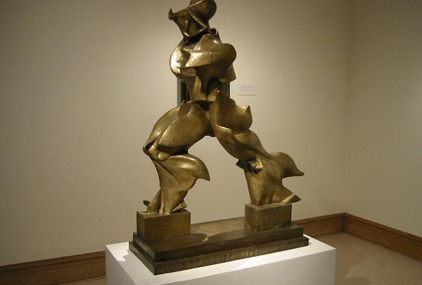 Umberto Boccioni - Unique Forms of Continuity in Space, 1913