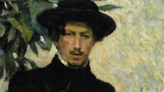 Umberto Boccioni - Self portrait, 1905 (detail)