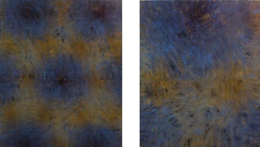 Left: Julie Oppermann, 1501, 2015 / Right: Julie Oppermann, 1502, 2015