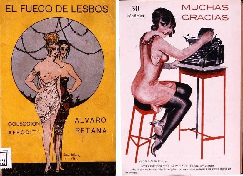 Vintage Spanish Erotica and Its Cheeky Aesthetics