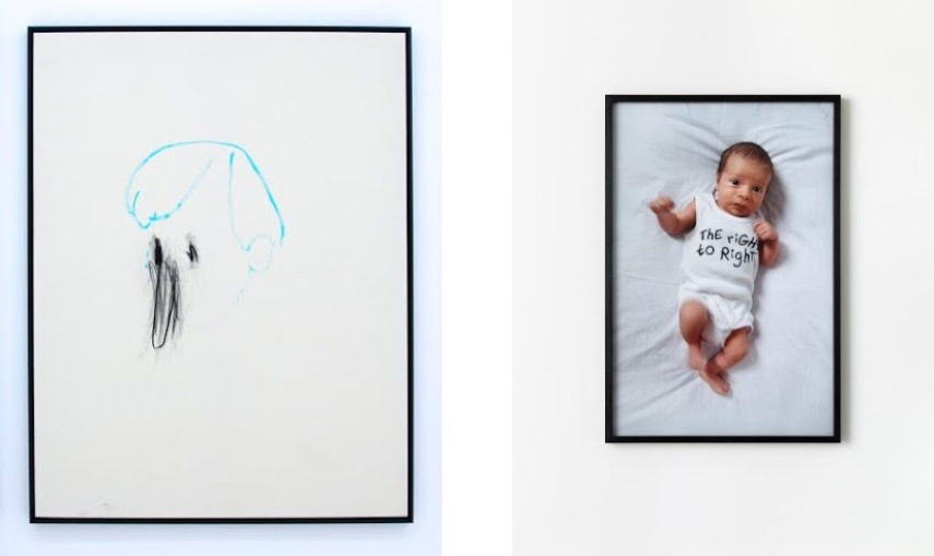 Left: Bel Fullana - La luna es una lampara que brilla, 2014 / Right: Libia Castro and Ólafur Ólafsson - ThE RiGHt tO RighT, c-type print, 50x75cm.jpg
