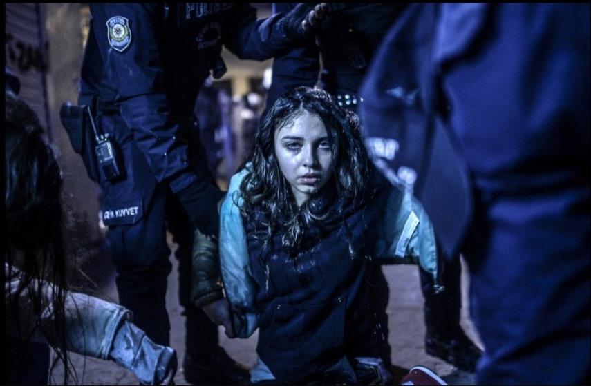 Bulent Kilic - Istanbul Protest