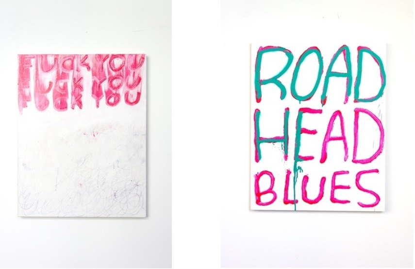 Left: Madsaki / Right: Madsaki - Don't Stop, Concentrate, 2015