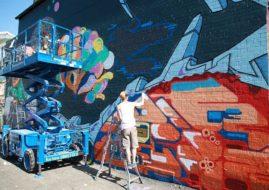 street art festival, upfest
