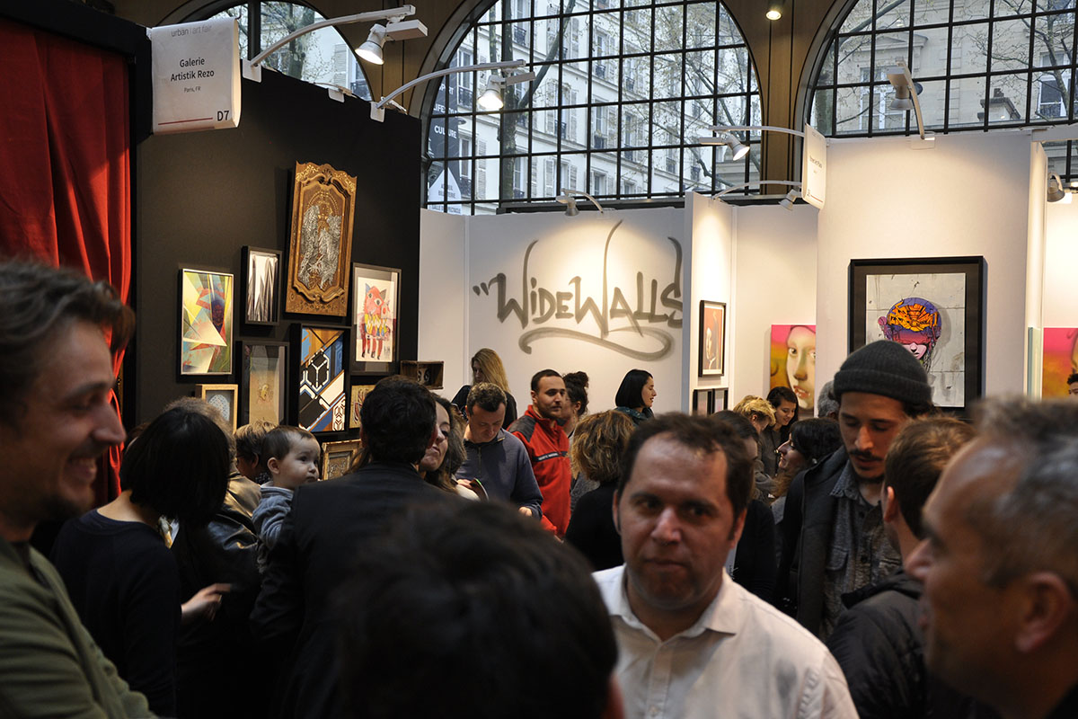 Urban Art Fair Paris 2018 in 49 Pictures
