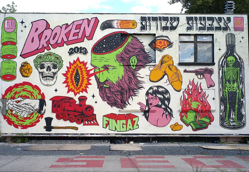 10 urban art galleries in berlin widewalls. Black Bedroom Furniture Sets. Home Design Ideas