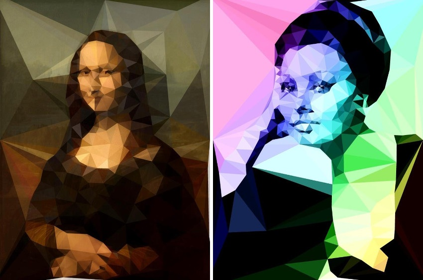 Uriginal - Mona Lisa (Left) / Sophia Loren (Right)