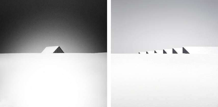 Uwe Langmann - Winter 005, 2010 (Left) / Winter 020, 2016 (Right)