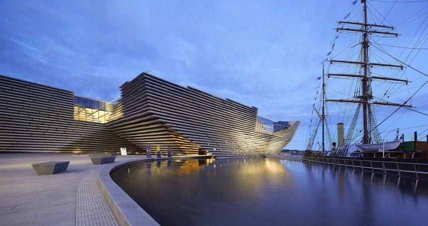 V&A Dundee Scotland © Hufton+Crow