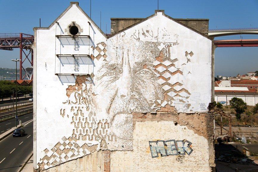 lisbon, art travel, murals, street art