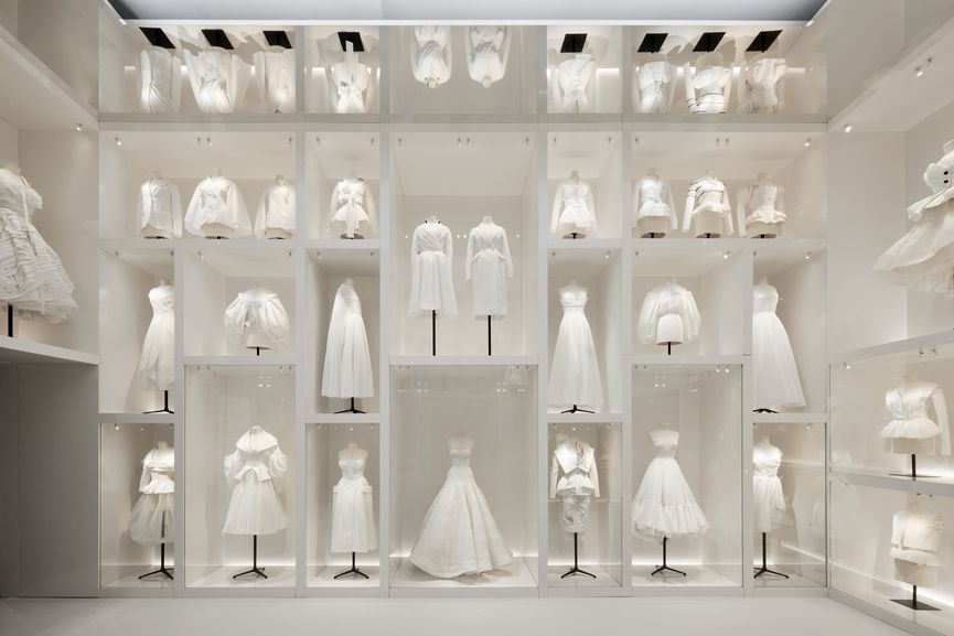V&A, Christian Dior Designer of Dreams exhibition, Atelier Section