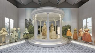 V&A, Christian Dior Designer of Dreams event, Historicism Section