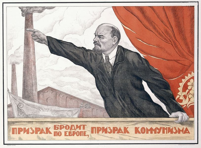 Valentin Shcherbakov, A Spectre is Haunting Europe, The Spectre of Communism, 1924