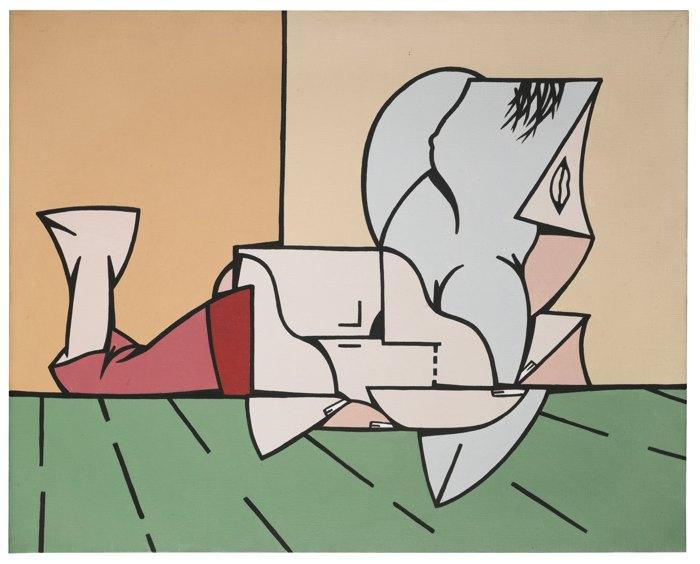 Valerio Adami-Piccolo Interno Su Un Orizzonte-1966