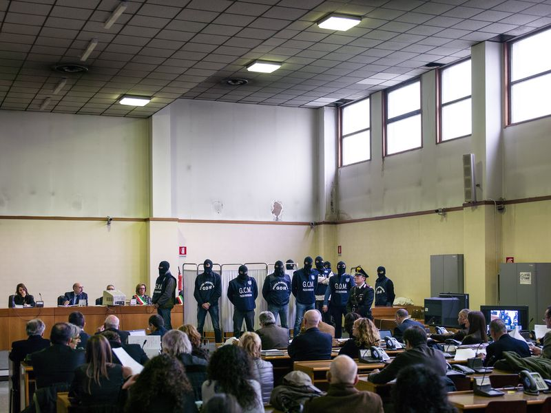 Aula Bunker, Deposition of Giovanni Brusca, 2013