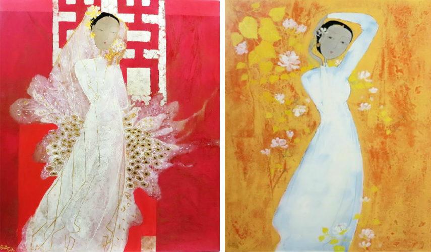 - Bride (Left) - Spring (Right), Images via benthanartcom facebook
