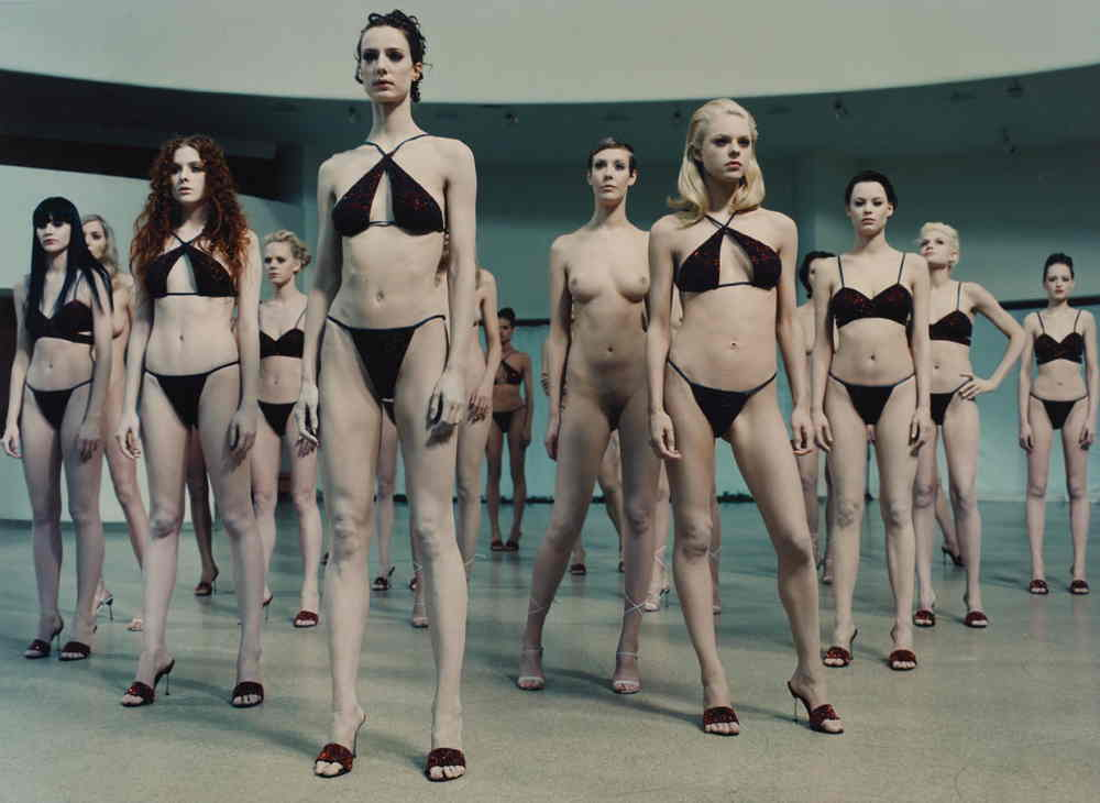 Vanessa Beecroft-vb35.377 Performance, Solomon R. Guggenheim Museum, NY - USA-1998