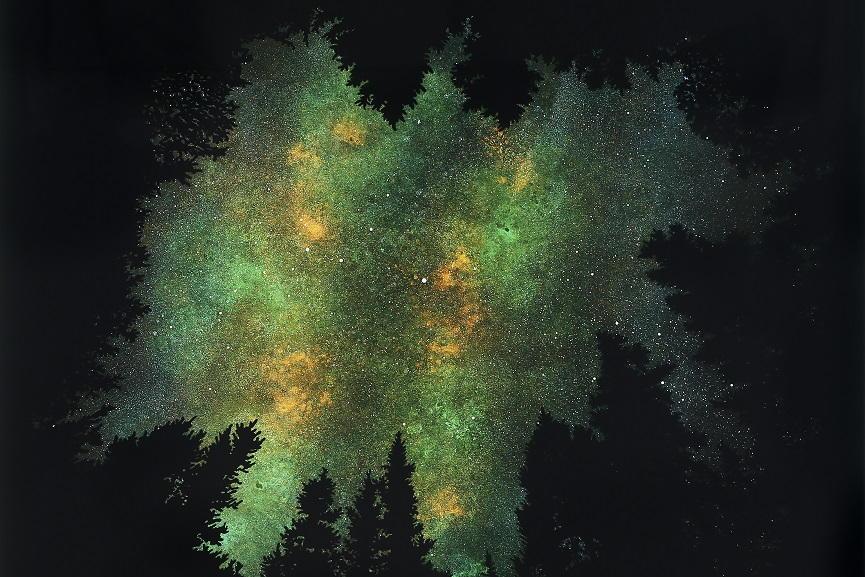 Vanessa Marsh - Trees 3, detail