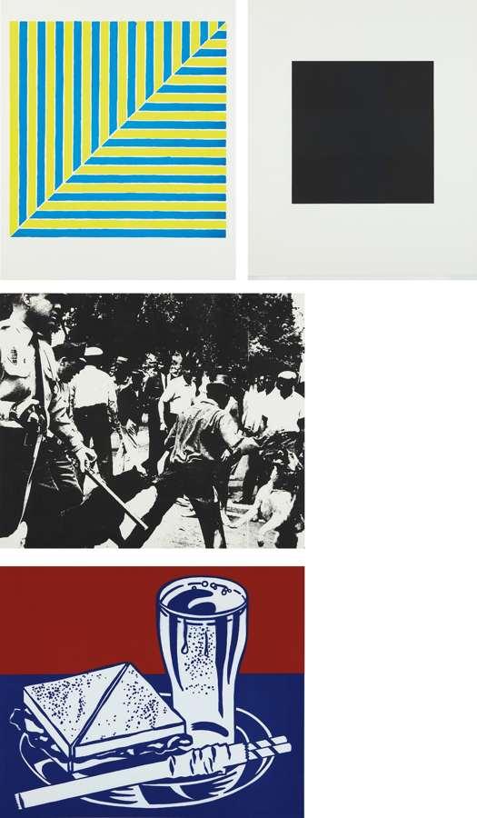 Various Artists - Ten Works by Ten Painters-1964