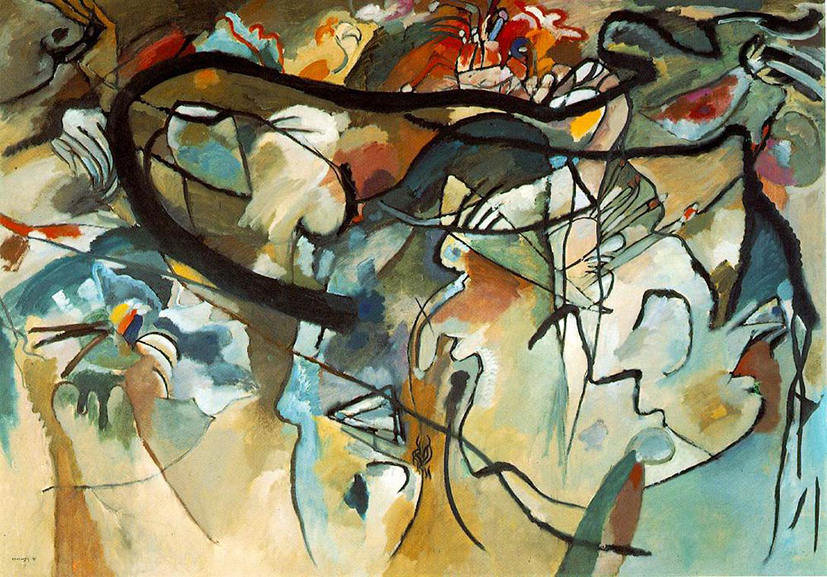 Vasily Kandinsky - Composition V, 1911