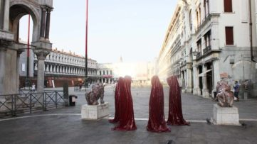 Venice Biennial 2017, arts exhibitions in the center of venice place