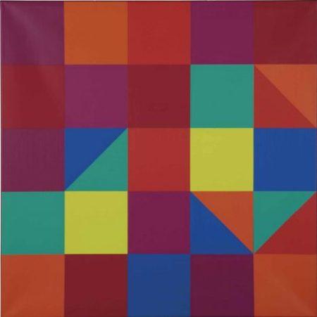 Vera Molnar-A la recherche de Paul Klee A la machine imaginaire-1972