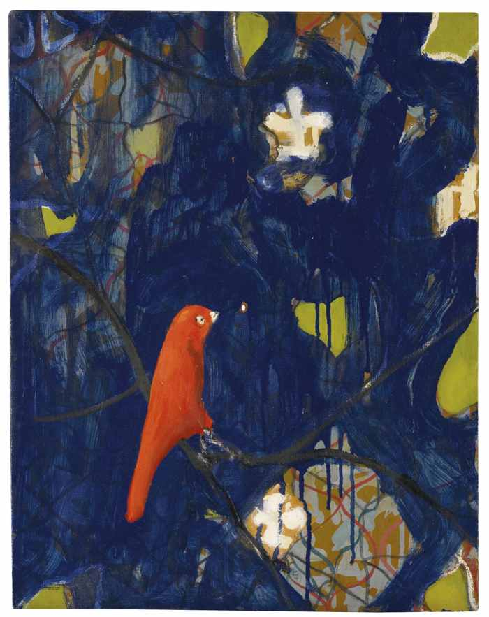 Verne Dawson-Red Bird-2009