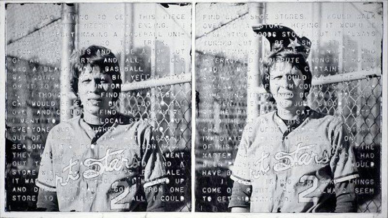 Vernon Fisher - Baseball Cap, 1978, multilayered, mixed media