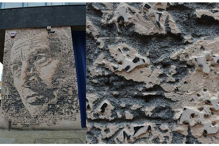 Vhils, Hewett Street tour new tours great