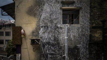 Vhils mural