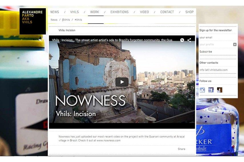 site web business